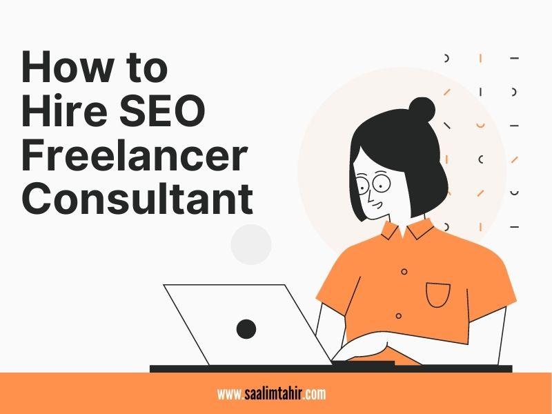 Hire SEO Freelancer Consultant